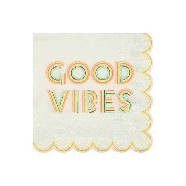 Copy of Good Vibes Napkins (small)