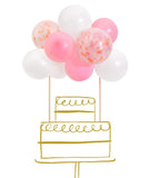 Balloon Cake Topper Kit (DIY)
