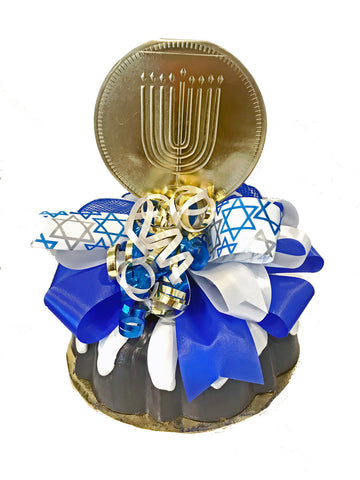 Menorah Medallion