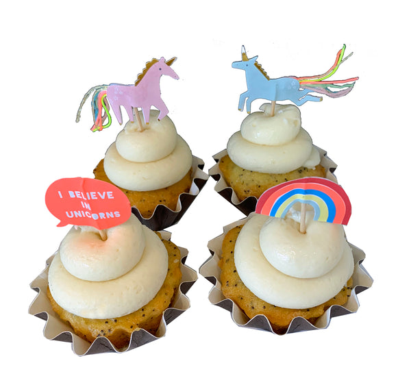 I Believe In Unicorns Cupcakes