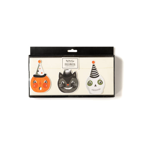 Vintage Halloween Icon Banner