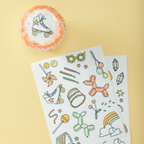 Edible Stickers- Good Times