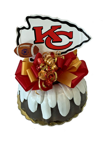 Kansas City Chiefs Football Cake
