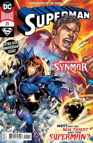 SUPERMAN #25 COVER A IVAN REIS - 9/8/20