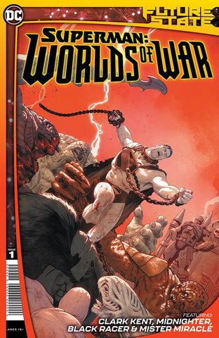 FUTURE STATE SUPERMAN WORLDS OF WAR #1 (OF 2) CVR A MIKEL JANIN 1/19/21