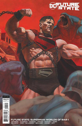 FUTURE STATE SUPERMAN WORLDS OF WAR #1 (OF 2) CVR B RICCARDO FEDERICI CARD STOCK VARIANT 1/19/21