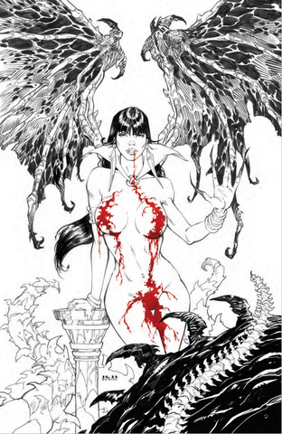 VAMPIRELLA #15 - RB WHITE BLOOD COLOR EXCLUSIVE