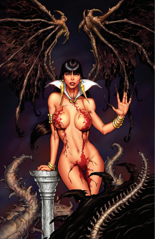 VAMPIRELLA #15 - RB WHITE COLOR EXCLUSIVE