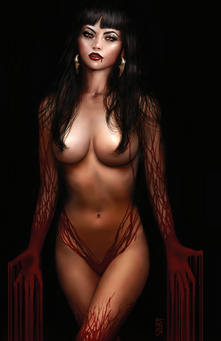 VAMPIRELLA #15 - SZERDY BLACK BLOOD EXCLUSIVE