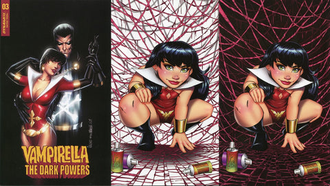 Vampirella Kincaid Homage (Set of 3)