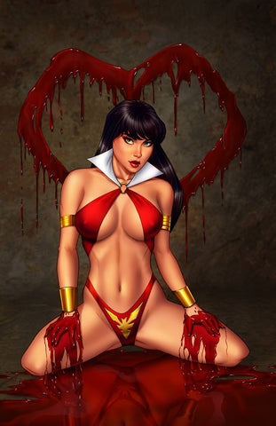 Ryan Kincaid Vampirella Valentine's Day Special EXCLUSIVE