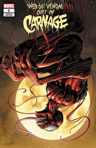 WEB OF VENOM CULT OF CARNAGE #1 - SALVADOR LAROCCO EXCLUSIVE COVER A