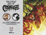 WEB OF VENOM CULT OF CARNAGE #1 - EXCLUSIVE BATTLE LINES COVER - 4/10/19