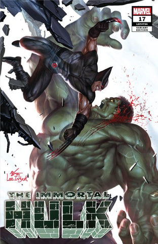 IMMORTAL HULK 17 EXCLUSIVE - INHYUK LEE - COVER A - LIM TO 3000 - 5/15/19