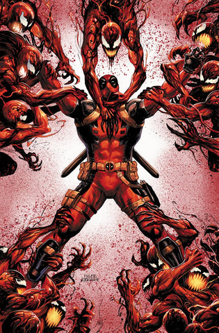 Absolute Carnage Vs Deadpool #3 Tyler Kirkham Virgin Cover