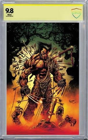 X OF SWORDS CREATION #1 CVR B VIRGIN CBCS 9.8 SIGNED by KYLE HOTZ - 12/23/20