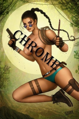 Persuasion Szerdy Tomb Raider Cosplay Green Variant NAUGHTY CHROME Ltd 75 - 8/1/20