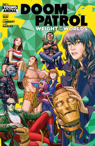 DOOM PATROL WEIGHT OF THE WORLDS #1 (MR) - 7/3/19