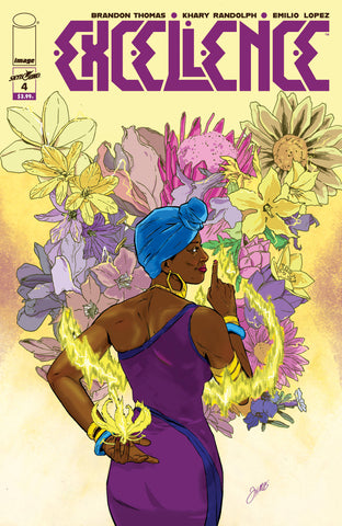 EXCELLENCE #4 COVER B VISIONS OF EXCELLENCE CHRISTMAS - 8/21/19