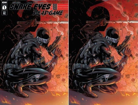 SNAKE EYES DEADGAME #1 MYCHAELS CE SET-  LTD 500
