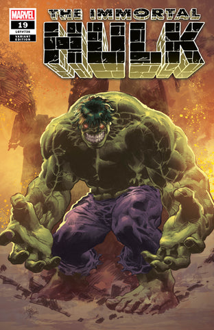 IMMORTAL HULK #19 - MIKE DEODATO EXCLUSIVE COVER A - 6/12/19