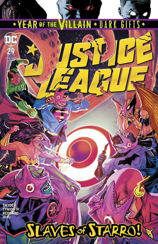 JUSTICE LEAGUE #29 YOTV DARK GIFTS - 8/7/19