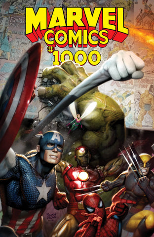 Marvel Comics #1000 Ryan Brown Exclusive Variant - Cover A Lim to 3000
