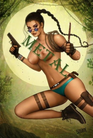 Persuasion Szerdy Tomb Raider Cosplay Green Variant NAUGHTY METAL Ltd 50 - 8/1/20