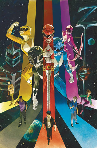 GO GO POWER RANGERS #22 COVER A MAIN SHAVRIN - 8/14/19