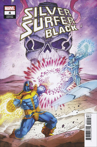 SILVER SURFER BLACK #4 (OF 5) LIM VARIANT - 9/11/19