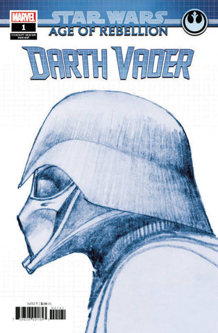 STAR WARS AOR DARTH VADER #1 CONCEPT VARIANT - 6/26/19