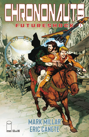CHRONONAUTS FUTURESHOCK #1 (OF 4) CVR E NOWLAN - 10/30/19