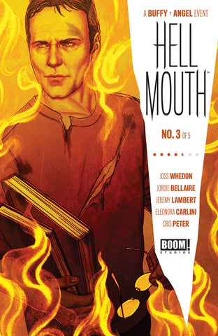 BUFFY VAMPIRE SLAYER ANGEL HELLMOUTH #3 COVER A FRISON - 12/11/19