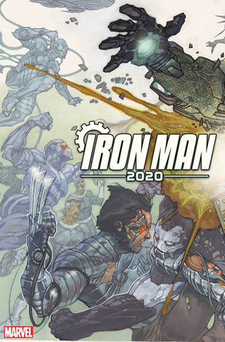 IRON MAN 2020 #1 (OF 6) BIANCHI CONNECTING VARIANT - 1/15/20