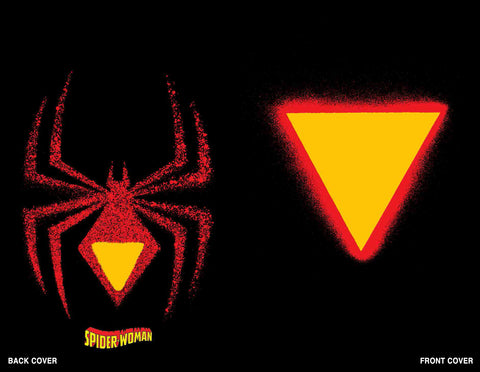 SPIDER-WOMAN #1 CHIP KIDD DIE CUT VARIANT - 3/18/20