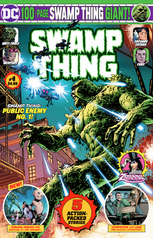 SWAMP THING GIANT #4 - 4/22/20