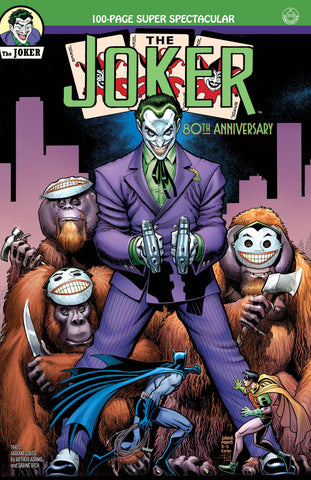 JOKER 80TH ANNIV 100 PAGE SUPER SPECT #1 1940S ARTHUR ADAMS - 6/17/20