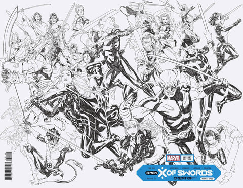 X OF SWORDS CREATION #1 BROOKS WRAP INKS 1:100 RATIO VARIANT- 9/23/20