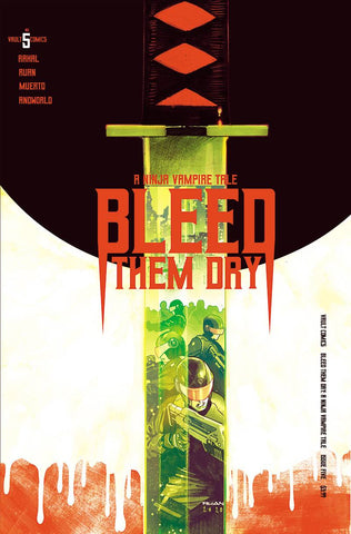 BLEED THEM DRY #5 COVER A RUAN - 11/25/20