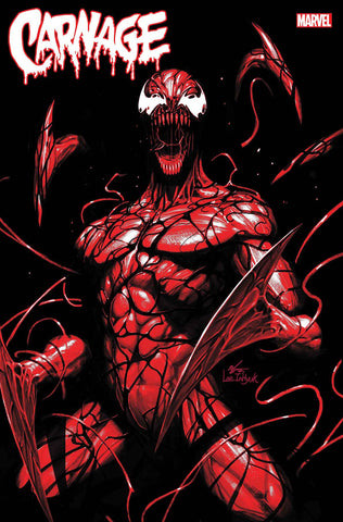 CARNAGE BLACK WHITE AND BLOOD #1 (OF 4) INHYUK LEE VARIANT - 3/24/21