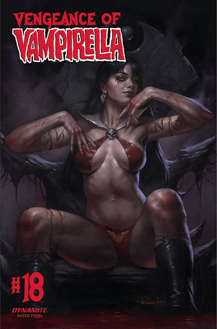VENGEANCE OF VAMPIRELLA #18 CVR A PARRILLO - 5/19/21