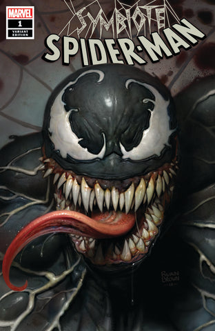 Symbiote Spider-Man Ryan Brown Exclusive - Cover A Lim to 3000 - 4/10/19