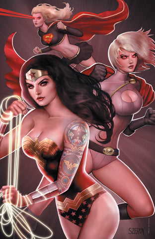 Tales From the Dark Multiverse Infinite Crisis - Nathan Szerdy Tatted Up Virgin Variant