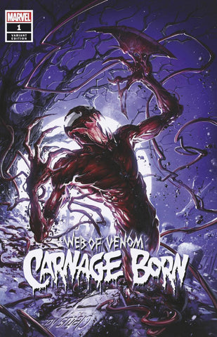 Web of Carnage Born #1 - Crain Exclusive Cover A Lim to 3000