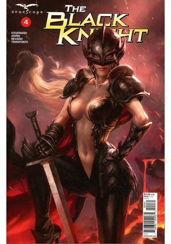 BLACK KNIGHT #4 (OF 5) COVER C BURNS -1/30/19