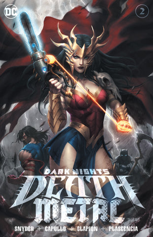 Dark Nights: Death Metal #2 Kunkka Cover A - Ltd 3000 - 7/15/20
