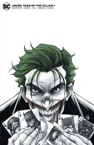 JOKER YOTV #1 - RYAN KINCAID EXCLUSIVE COVER B