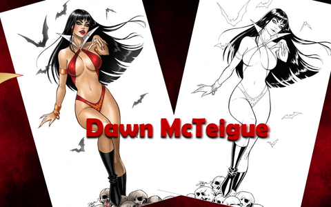 Vampirella #13 - Dawn McTeigue SET A & B