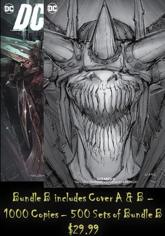 DCEASED #4 - JOHN GIANG BUNDLE B - LIM TO 500