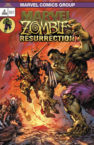 MARVEL ZOMBIES RESURRECTION #1 KAEL NGU VARIANT
